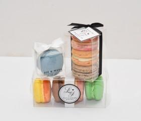 Macaron Bomboniere (4 Pack)
