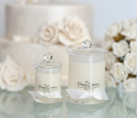 Luxe Linen – Candle French Style Jar