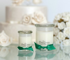 Bamboo & White Lily – Candle Metro Style Jar