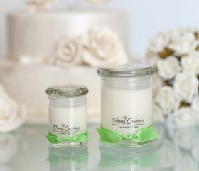 Coconut & Lime – Candle Metro Style Jar