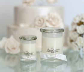 Luxe Linen – Candle Metro Style Jar
