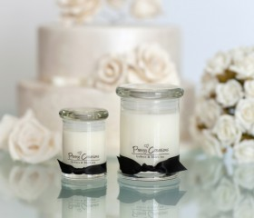 Lychees & Black Tea – Candle Metro Style Jar