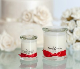 Red Roses – Candle Metro Style Jar