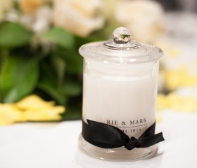 Candle Bomboniere – French Jar Style Medium